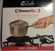 SIMMER MAT DIFFUSER STOVE TOP RANGE GAS LOW HEAT NO BURN GLASS SIMMERMAT 5200