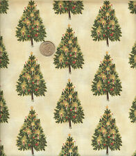 "OOP! CHRISTMAS VICTORIAN CHRISTMAS ON CREAM - BLUE HILL FABRICS - BTFQ -18""X22"""