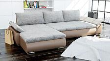 Couchgarnitur Couch Sofa mit Schlaffunktion KARMA Ecksofa Sofagarnitur