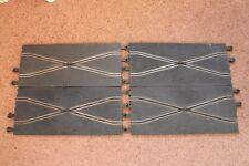4 SCALEXTRIC CLASSIC C182 PT82 CROSSOVER STRAIGHT TRACK GOOD CONDITION