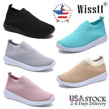 Women's Walking Knit Sock Shoes Athletic Tennis Go Walk Casual Sport Sneakers