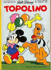 [702] TOPOLINO ed. Mondadori 1977 n.  1126 stato Ottimo