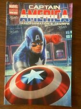 CAPTAIN AMERICA TRANSFORMATION & TRIUMPH 1 VG/FN GIVEAWAY PROMO VARIANT KIEHL'S
