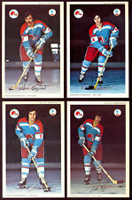1972 QUEBEC NORDIQUES WHA HOCKEY Pro Star Promotions 15 POSTCARD TEAM ISSUE SET