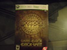 BIOSHOCK LIMITED EDITION XBOX 360 GAME & NEW FIGURE COMPLETE