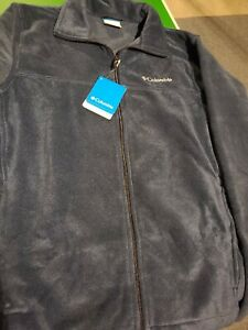 Columbia Men's Steens Mountain Front-Zip Fleece Jacket Collegiate Navy Medium
