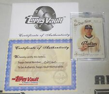 Casey Kelly 2014 Topps Allen & Ginter Vault #d 1/1 Blank Back Baseball Card #218