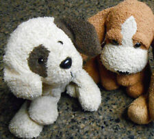 Russ Berrie Luv Pets Buster Bailey Brown Cream Puppy Dog Plush Bean Bag Toy Euc