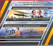 A0297  - CENTRAL AFRICAN REP. -  ERROR MISSPERF  2017 Aviation Wilbur Wright