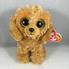 """NEW 2021 TY Beanie Boos 6"""" NOODLES the Golden Doodle Dog Plush Stuffed Toy MWMTS"""