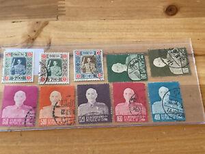 Taiwan Stamp Lot NA27