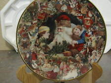 Lot of 4 Limited Edition Christmas 8 Inch Plates Beautiful Never Displayed