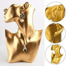 Jewelry Necklace Earring Watch Head Bust Stand Mannequin Holder Display Showcase