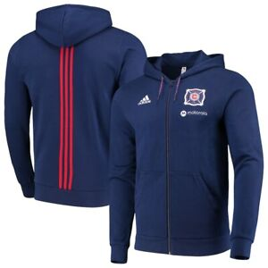 Adidas MLS Chicago Fire Jacket Navy,Red DP4965