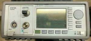 Hp Agilent 8163A Lightwave Multimeter w/ 2x modules 81618A and 81610A - * Tested