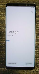 Samsung Galaxy Note 8 64GB Orchid Gray AT&T Network Only - Camera Issue