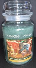 Yankee Candle PATCHOULI 22 oz Large Jar Candle / New / FREE SHIP