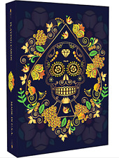 Calaveras de Azúcar Blue Edition Playing Cards Printed by USPCC + Murphy's Magic