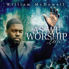 William McDowell - As We Worship Live [New CD]