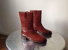 Kurt Geiger Tan Calf Length Boots.UK Size 6-7 (39) (40).New !