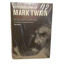 Autobiography of Mark Twain Book Vol 1 Complete Authoritative Hardcover  AO