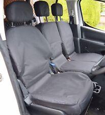 Citroen Berlingo / Peugeot Partner Tailored Waterproof  Heavy Duty Seat Covers