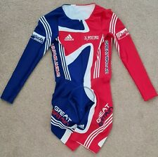 Great Britain Cycling Skinsuit Speedsuit Size S Long Sleeve NEW