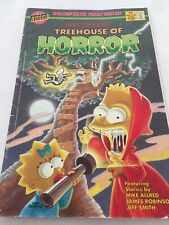 1st Issue 'Bart Simpson's Treehouse Of Horror' 2002 #1 Retro Cover!