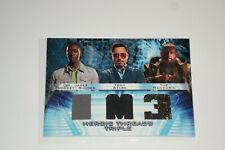Iron Man 3 Heroic Threads Triple Rhodey/Tony Stark/Mandarin Costume Card HTT-4