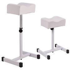 White Adjustable Pedicure Manicure Technician Nail Footrest Salon Spa Equipment