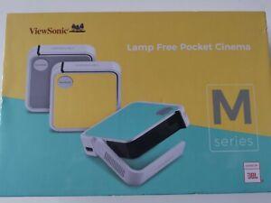 ViewSonic m1 Mini LED Pocket Projektor Akku oder USB mit JBL Lautsprecher HDMI OVP