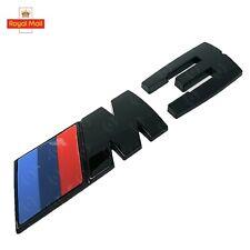 Gloss Black M3 E92 Boot Badge Emblem - Black Out - E90 E92 E93 OEM Size
