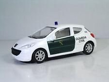 """Mondomotors 53170 Peugeot 207 """"GUARDIA CIVIL"""" - METAL 1:43"""