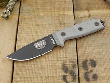Couteau ESEE Model 3 Lame Carbone 1095 Manche Micarta Couteau SEUL USA ES3PKO