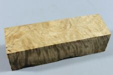 "Ripple Maple Wood Pen/Game Calls/Handle Turning Blank 5.8""x1.8""x1.6"" 5851"