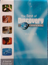 BEST OF DISCOVERY CHANNEL - VOLUME 1 - (5) DVD BOX SET - STILL SEALED