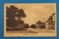 France Marne 51 AK CPA Marcilly sur Seine 1910-25 Boutiques Maisons Rue Village