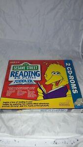 Sesame Street Reading Is Fun Toddler Edition PC CD ROM RARE Windows 95/Window3.1