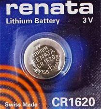 CR1620 RENATA WATCH BATTERIES ECR1620 KCR1620 DL1620 5009LC New AuthorizedSeller