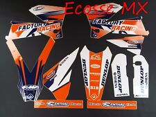 KTM SX125 SX250 SXF250 SXF450 SXF525 2005-2006 FLU Graphics Stickers Decals