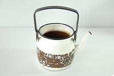 Arabia Mid-Century Kaj Franck Finel Teapot Kettle 1950's Enamelware RARE