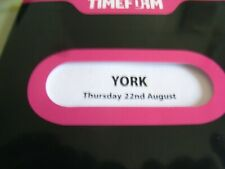 York RACE CARD EBOR MEETING 2013