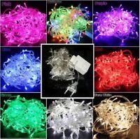 10M 100 LED Christmas Wedding Xmas Party Outdoor Decor Fairy String Light Lamp~~