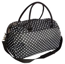 Ladies Weekend Overnight Bag Womens Large Maternity Travel Sports Gym Holdall