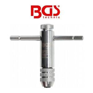 Porte outil à cliquet pour taraud M3-M10 - BGS Technic