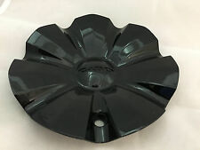 "NEW CABO 143 20"" 22"" 24"" GLOSS SHINY BLACK WHEEL RIM CENTER CAP C-176-1"