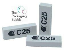 More details for erasers large rubber pencil school drawing stationery eraser classpack bundle