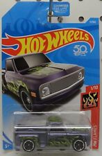 1969 69 11 16 CUSTOM PICKUP TRUCK PURPLE FLAMES CHEVY STREET ROD HW HOT WHEELS