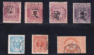 KOREA STAMP OLD USED STAMPS COLLECTION LOT