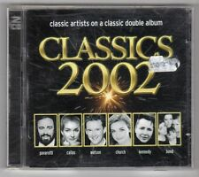 (GY785) Classics 2002, 41 tracks various artists - 2001 double CD